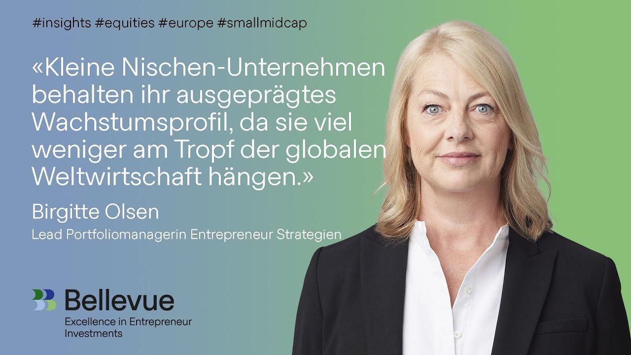 Birgitte Olsen im Bellevue Portfolio Manager Spotlight