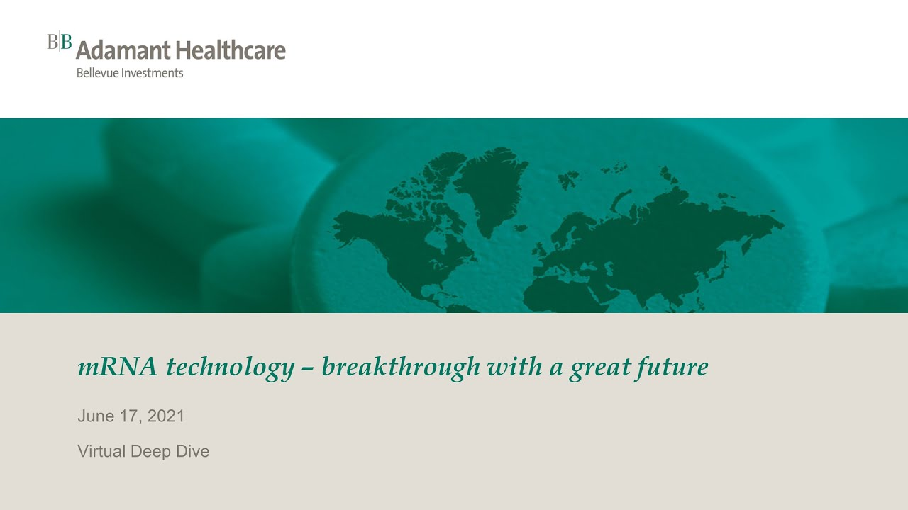 mRNA technology – breakthrough with a great future